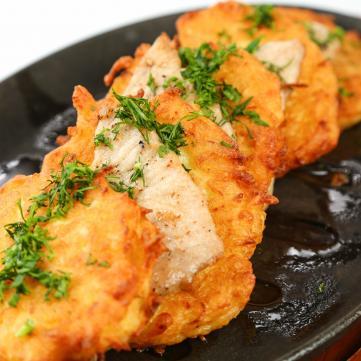 Зірковий рецепт: Гарбузові оладки від Юлії Саніної