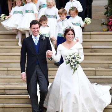 Принцесса Евгения очаровала нежной фотографией со своей свадьбы