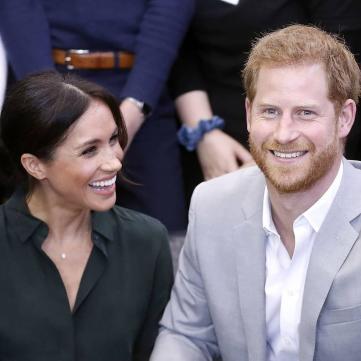 В сети обсуждают самые милые снимки принца Гарри и Меган Маркл