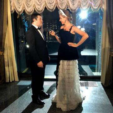 Без ковдри і в смокінгу:  екс-голова Державної фіскальної служби Роман Насіров на віденському балу заявив, що іде в Президенти