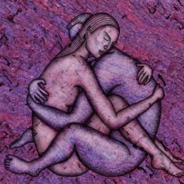 Витвір мистецтва, картина, на якій автор зобразив секс, кохання, пристрасть