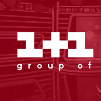 Логотип 1+1 медиа