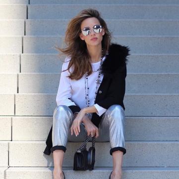 мода, окуляри, туфлі