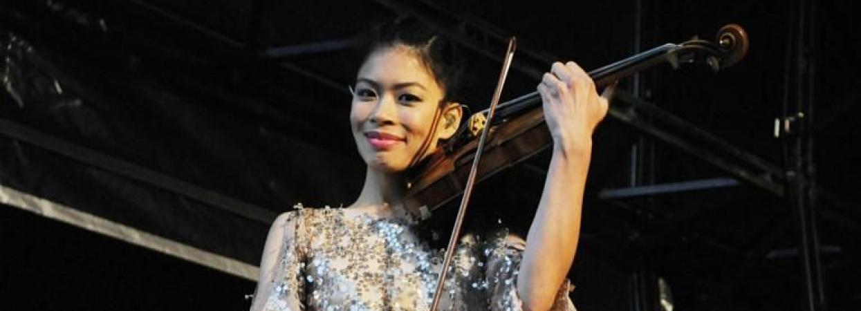 Ванесса Мей - британська скрипалька
