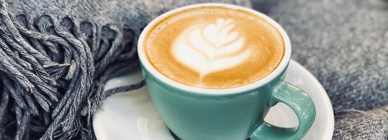 кофе плед латте