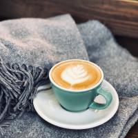 кава плед лате