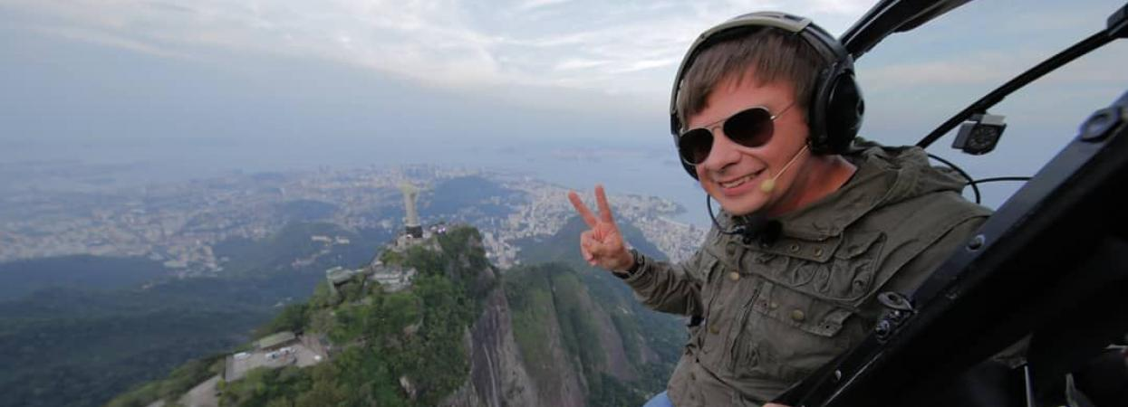 Дмитро Комаров у Бразилії