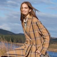 пальто дівчина мода