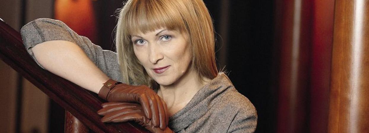 Украинская писательница Ирен Роздобудько