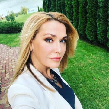 Акторка Ольга Сумська - селфі