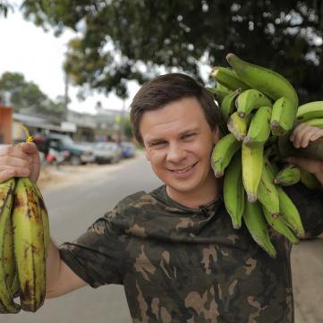 Дмитро Комаров повернувся до України зі свого найдовшого відряджання