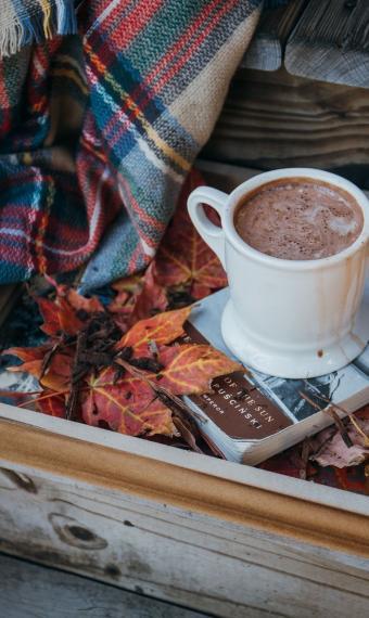 кава осінь