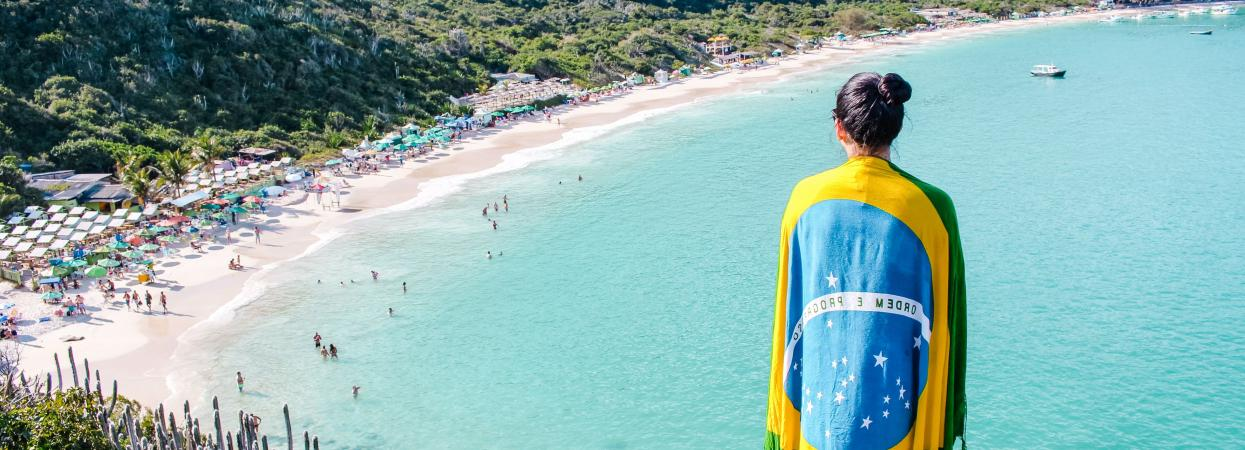 на фото пейзажи Бразилии