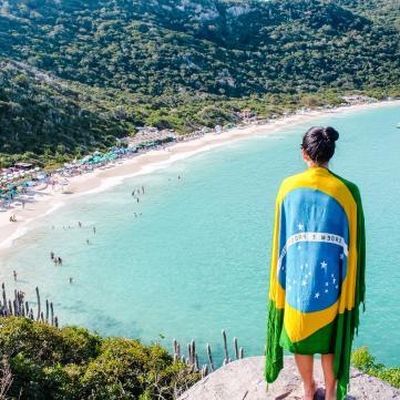на фото краєвиди Бразилії