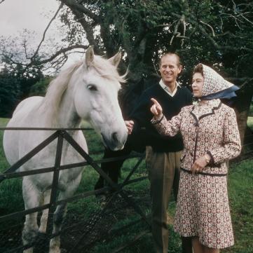 королева Єлизавета та принц Філіп