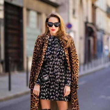пальто сукня ботфорти
