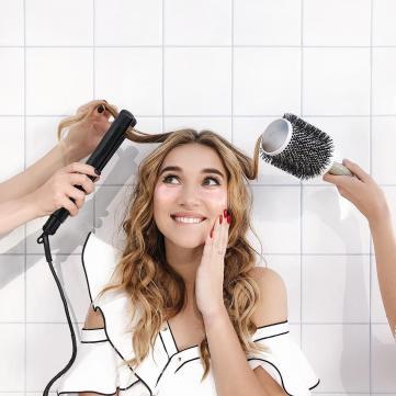 зачіска дівчина волосся