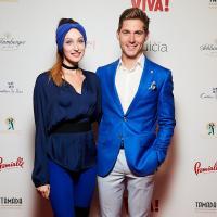 владимир остапчук с женой