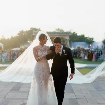 Приянка Чопра - свадебный образ