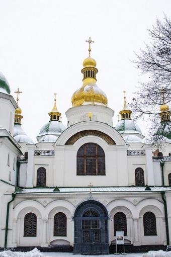 на фото Софія Київська