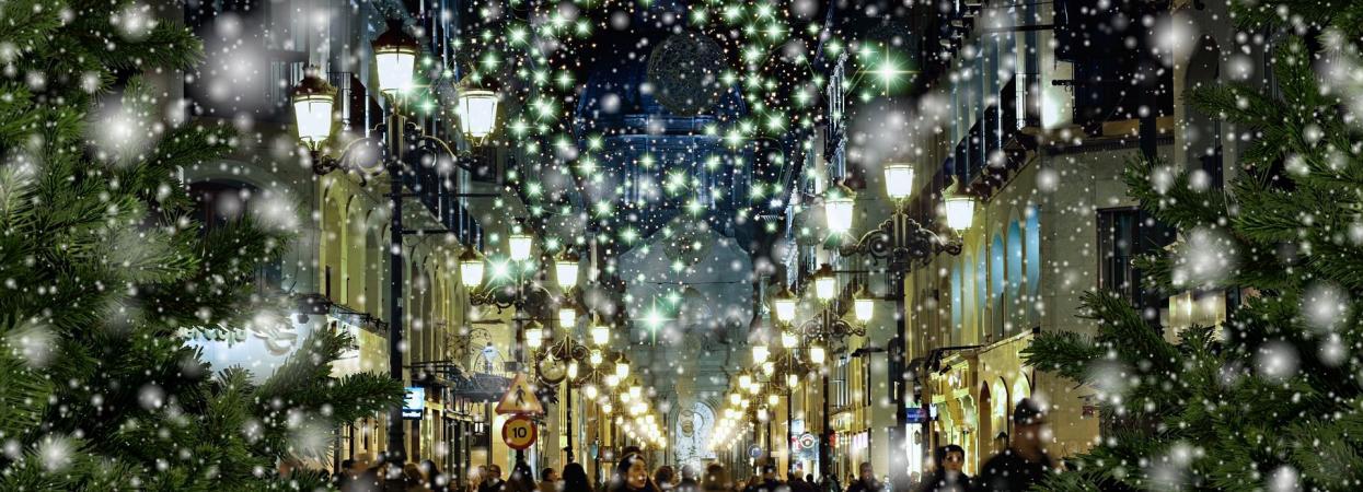 Зима, новый год