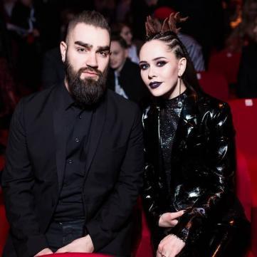 юлія саніна з чоловіком