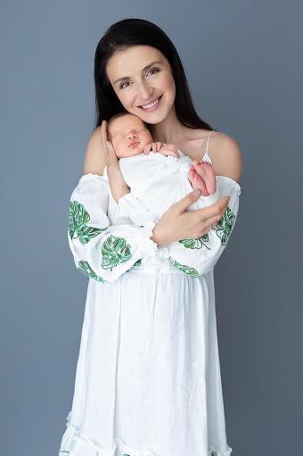 валентина хамайко з немовлям