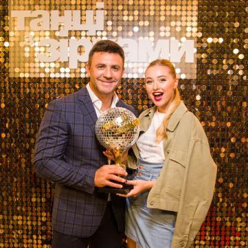 Микола Тищенко з дружиною
