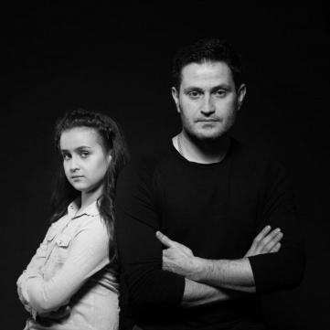 Ахтем Сеітаблієв з донькою
