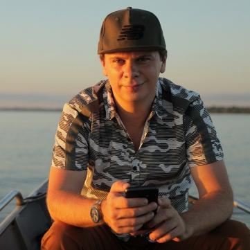 Дмитро Комаров, Світ навиворіт в Бразилії