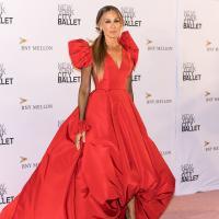 сара джессика паркер красное платье