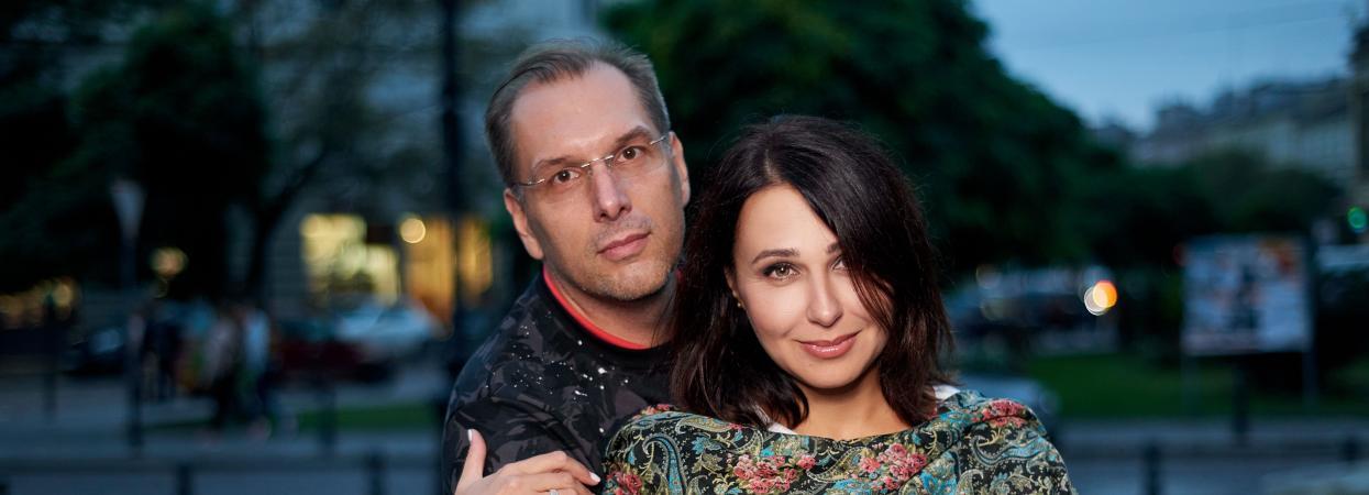 Наталія Мосейчук з чоловіком Іллєю
