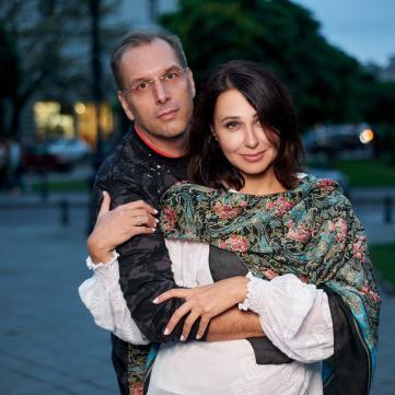 Наталия Мосейчук с мужем Ильей