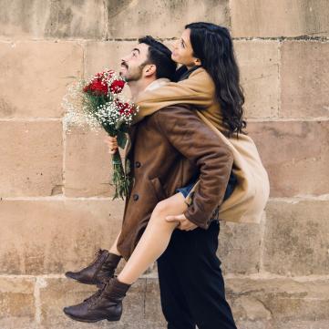 Пара, закохані, день закоханих
