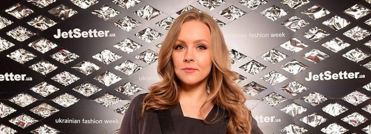 Олена Шоптенко на Українському тижня моди