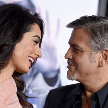 Джордж та Амаль Клуні розвіяли чутки про своє розлучення