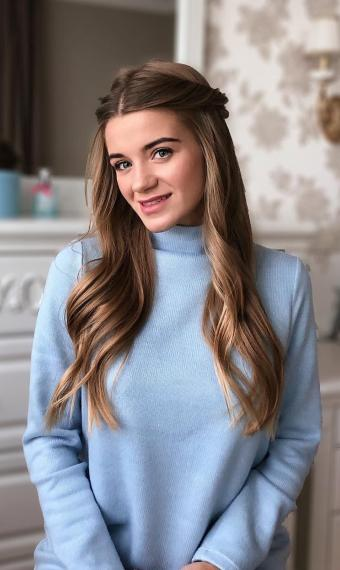 зачіска светр