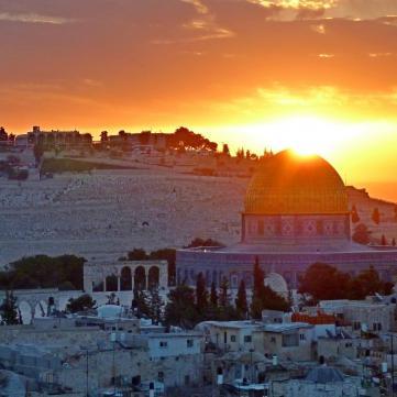 Панорамний вид Ізраїль