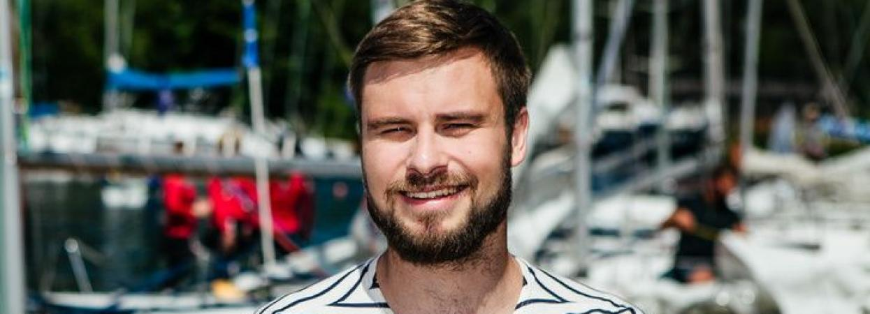 Єгор Гордєєв на регаті