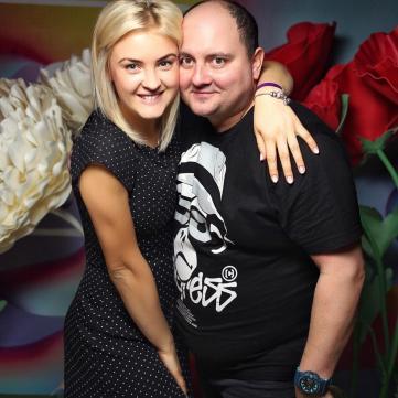 Юрій Ткач із дружиною