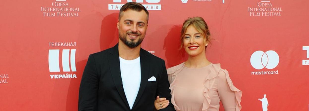 Олена Кравець з чоловіком
