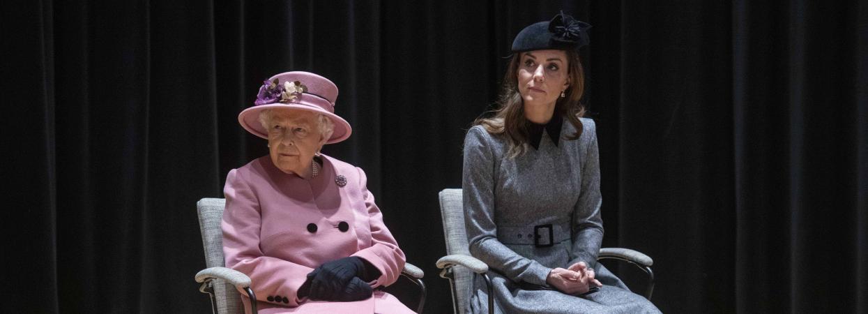 Кейт Міддлтон і королева