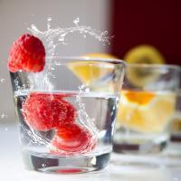 склянка, вода