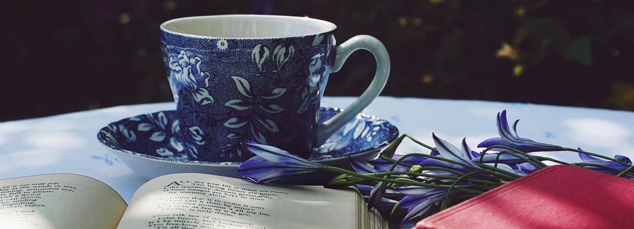 чай і книга