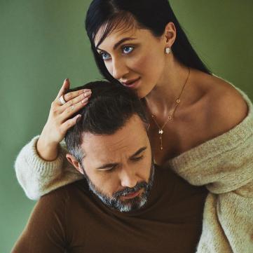 Сергій Бабкін показав пікантне фото вагітної дружини в білизні