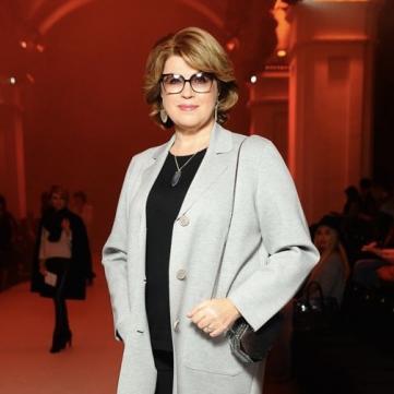 «Я завжди була велика, у мене параметри XXL!»: дружина екс-прем'єр-міністра України Марина Кінах розповіла про свій досвід дефіле та фотозйомок для «глянцевого» журналу