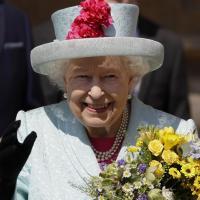 Єлизавета ІІ на Великодній службі