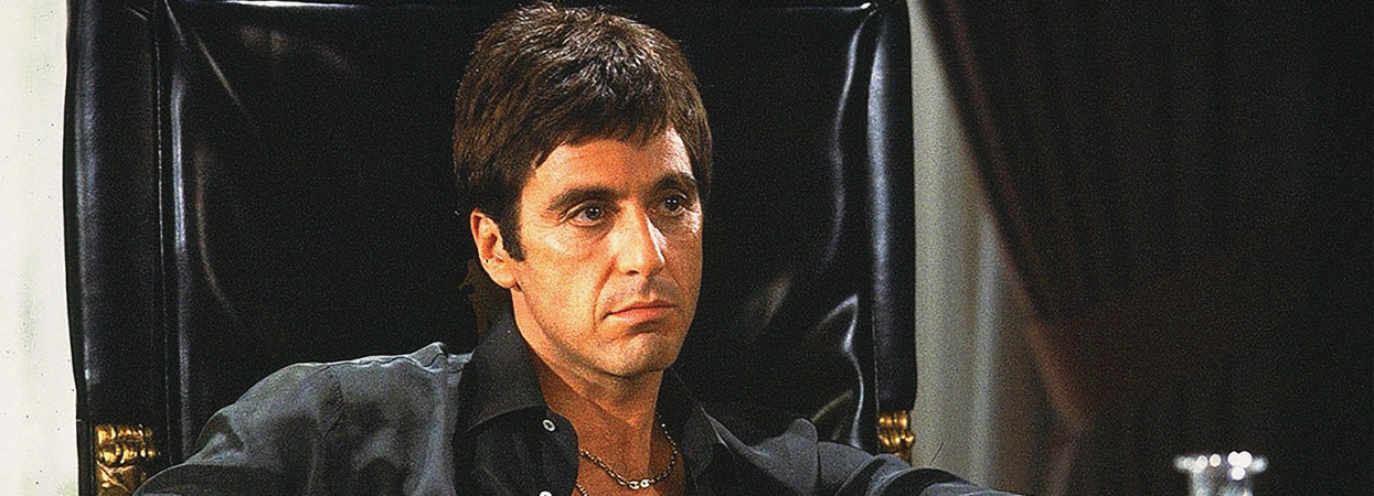 Кадр із фільму Обличчя зі шрамом
