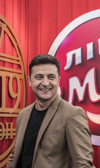 Володимир Зеленський, Ліга Сміху