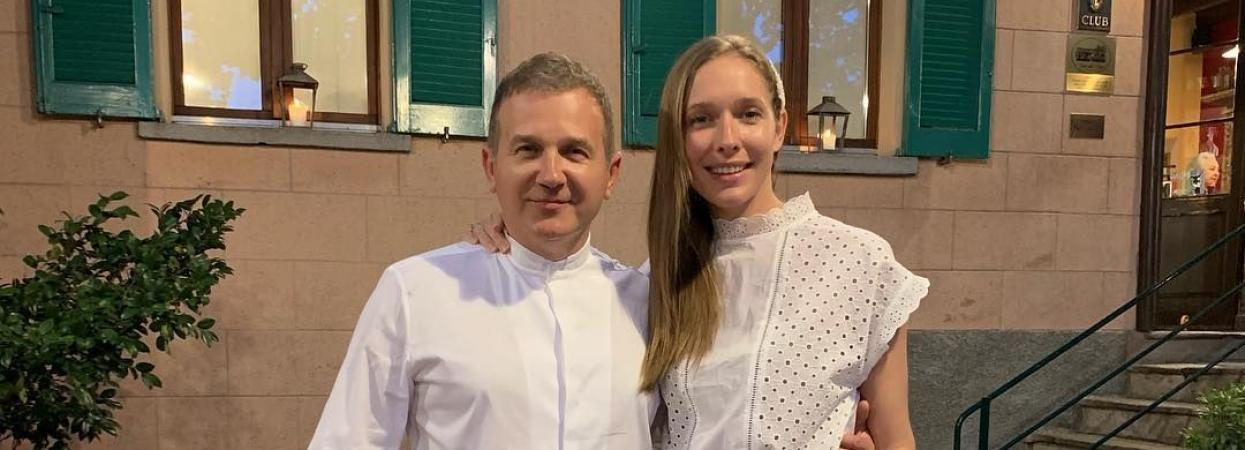 Юрій Горбунов і Катя Осадча в Італії